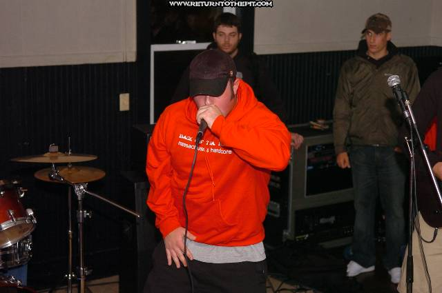 [in our blood on Oct 11, 2005 at Tiger's Den (Brockton, Ma)]